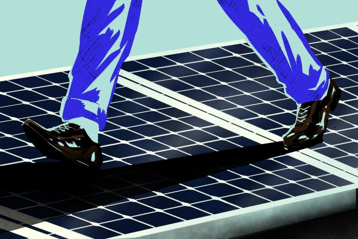 Energy-Generating Solar Sidewalks