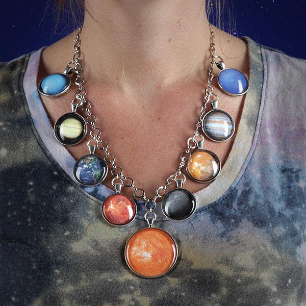 Dazzling Planetary Jewelry