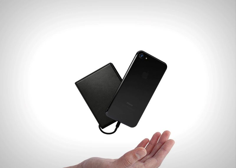 Phone-Charging Smart Wallets