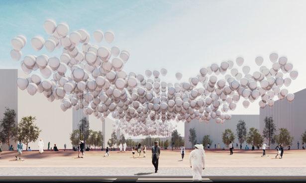 Energy-Capturing Balloon Installations