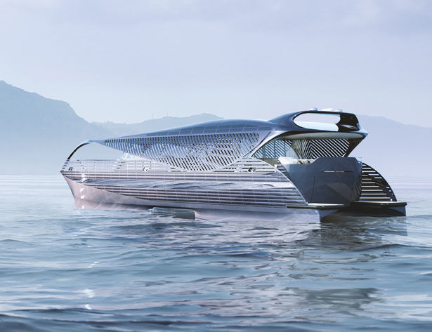 Electric Fuel-Free Luxury Yachts