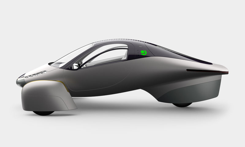 Solar Cell-Covered Cars
