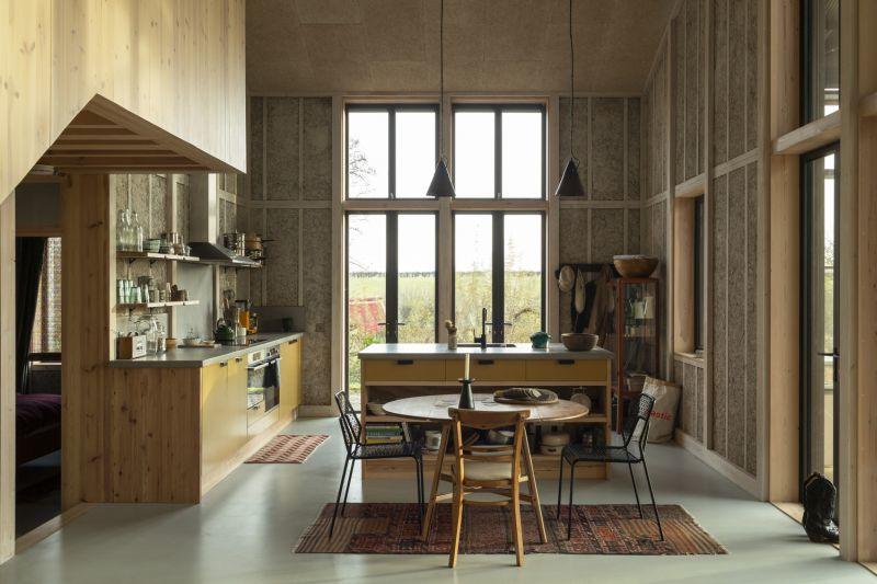 Eco Hemp-Based Houses