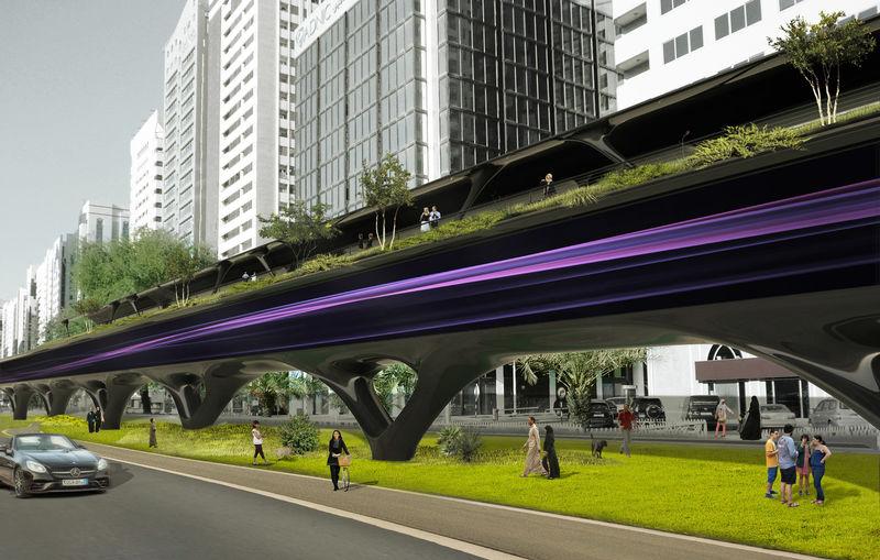 Solar-Powered Hyperloop Systems