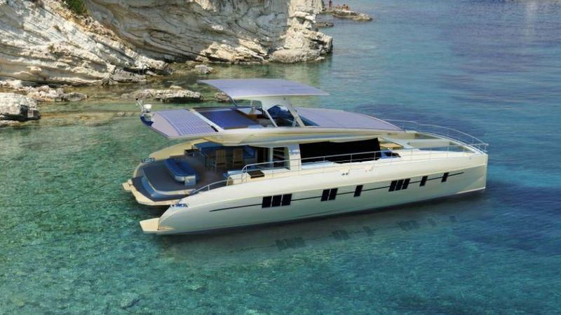 Zero-Emission Solar Yachts