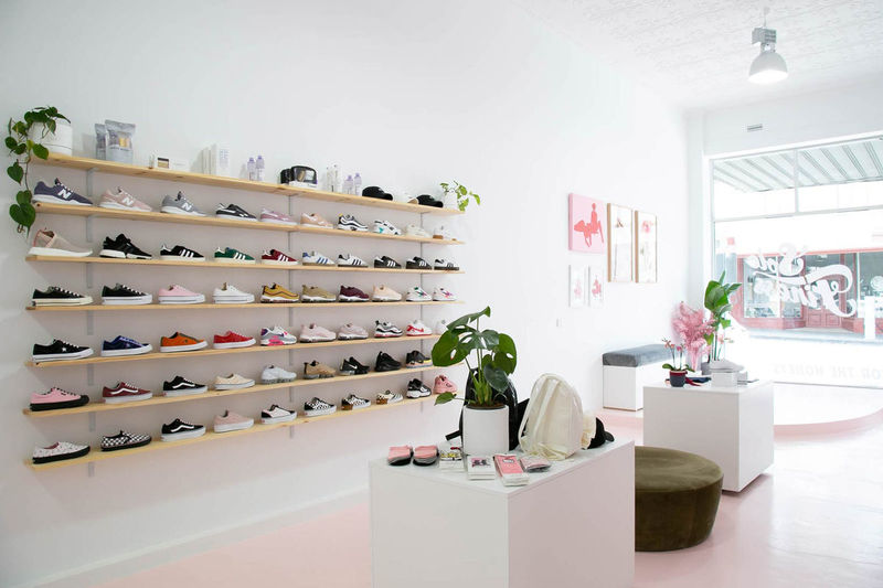 Thoughtfully Accented Sneaker Shops