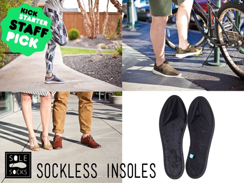 Sockless Insoles