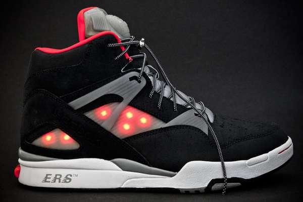 Illuminated Hightop Sneakers