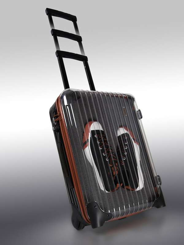 sneaker display suitcases solebox rimowa cabin trolley. Black Bedroom Furniture Sets. Home Design Ideas