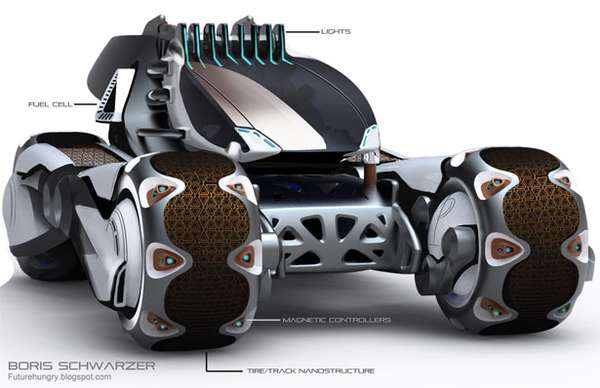 Ant-Inspired Race Cars
