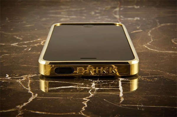 Solid Gold Phone Covers