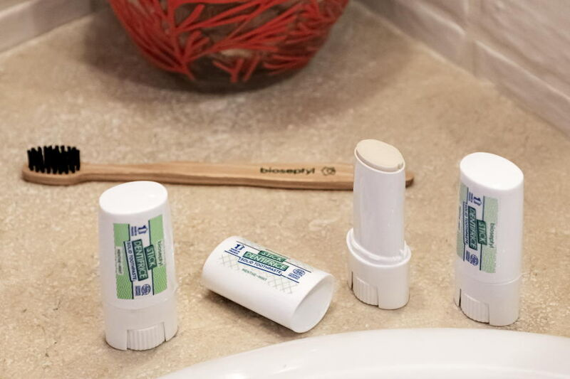 Solid Toothpaste Sticks