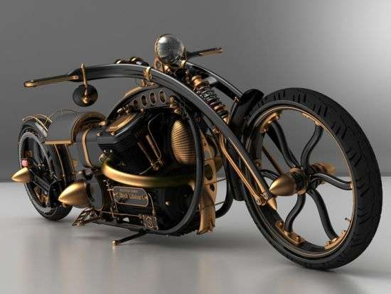 Spidery Steampunked Cycles