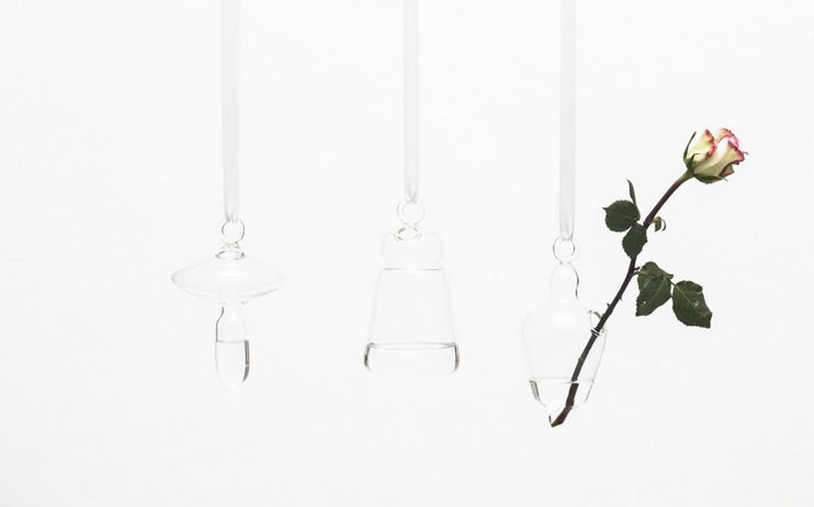 Delicate Hanging Vases