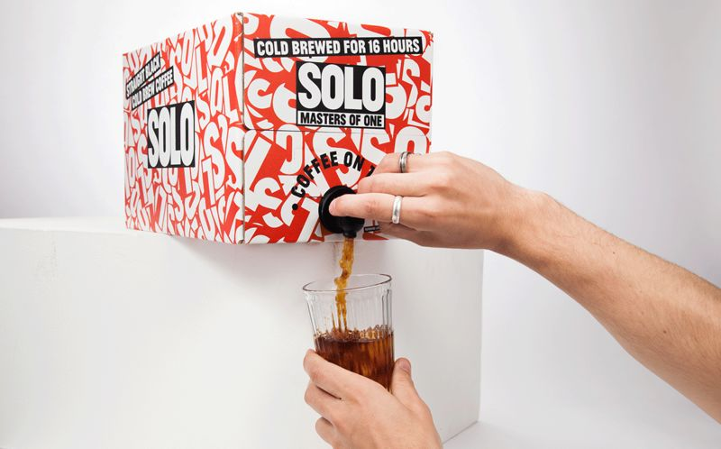 Cold Brew Dispenser Packaging