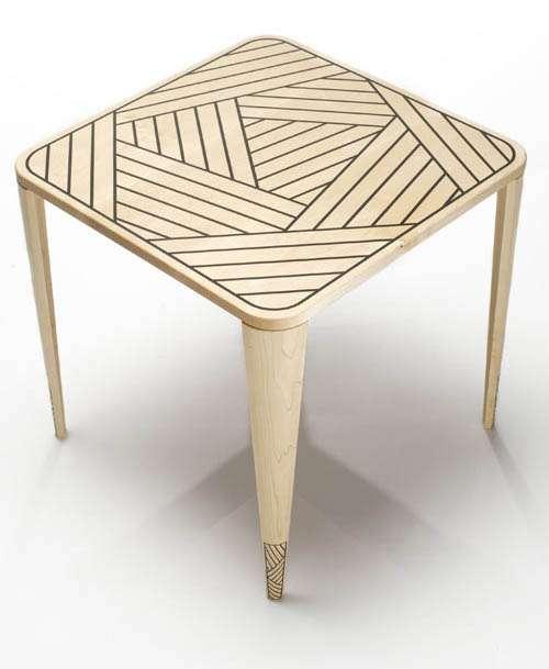 Line-Layered Furniture