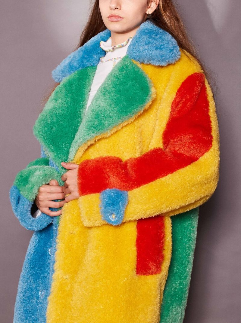 Textured Candy-Colored Coats
