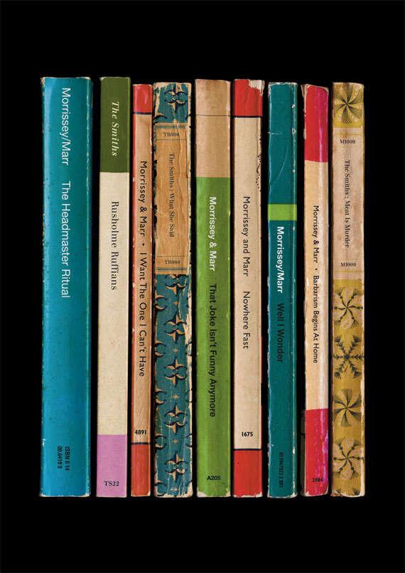 Music-Inspired Bookshelves