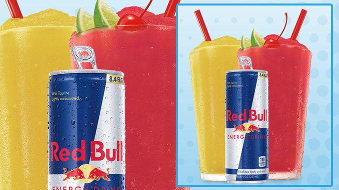 Energy Drink-Infused Frozen Beverages