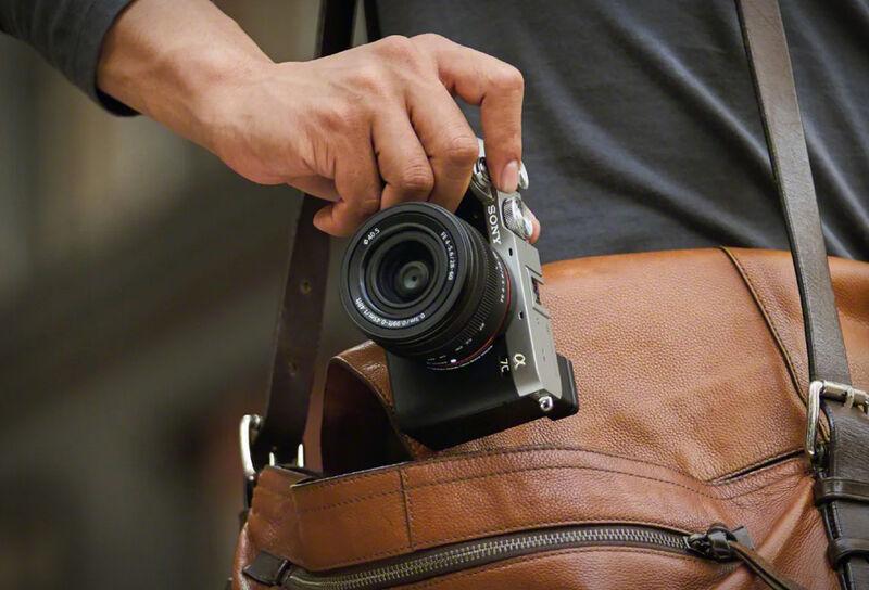 Lightweight Full-Frame Cameras
