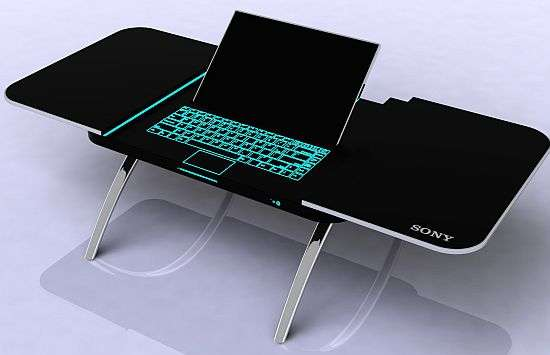 Computer Coffee Tables sony fusion table