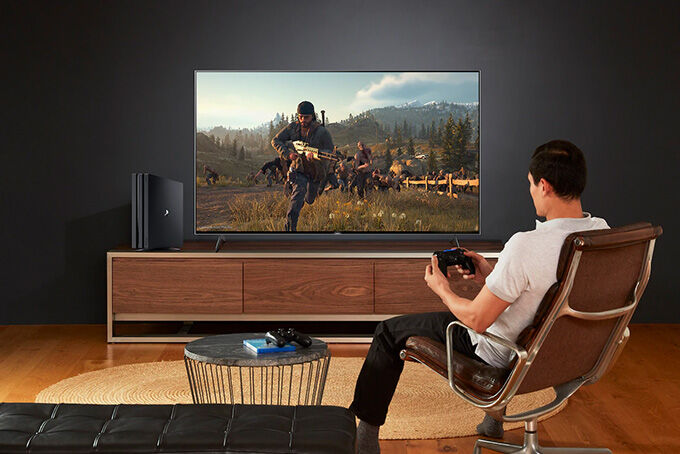 Game Console-Ready TVs