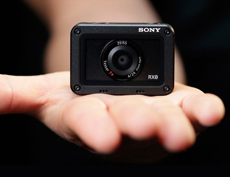 Enlarged Sensor Action Cams