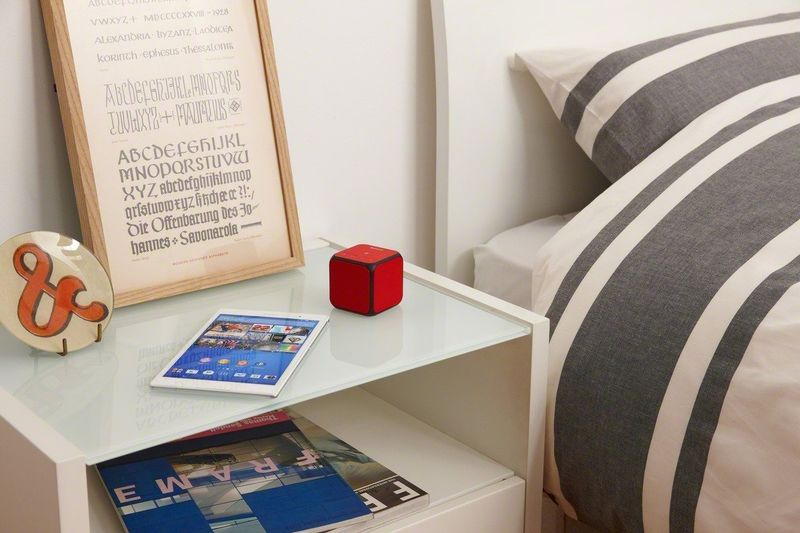 Colorful Cubic Speakers
