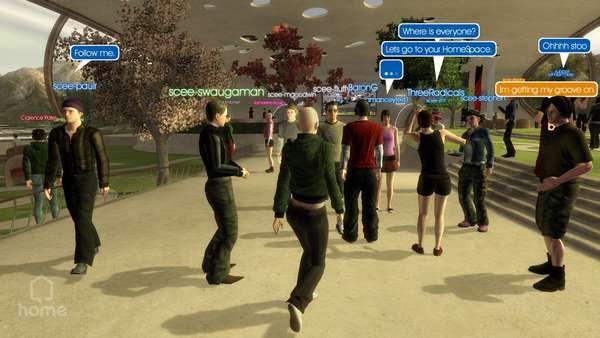 Sony Announces 3D Social Network 'HOME'