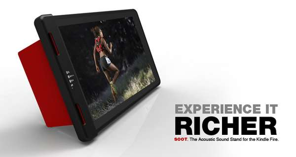 Minimalist Tablet Sound Accessories