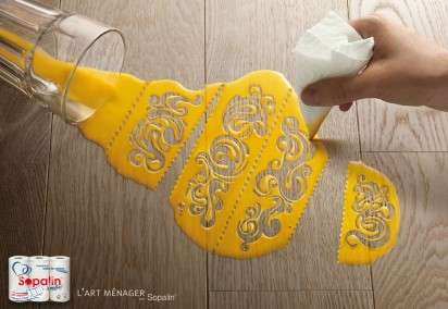 Artistic Cleaning Campaigns