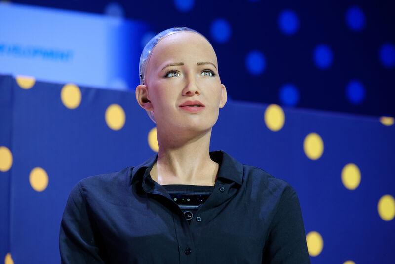 Robotic Portrait NFTs