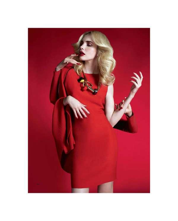 Red Hot Dress Shoots