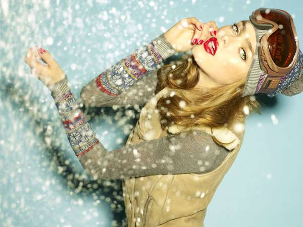 Wintry Fashiontography