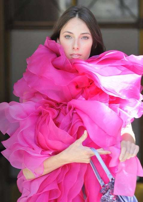 Sorbet-Inspired Ruffled Fashion