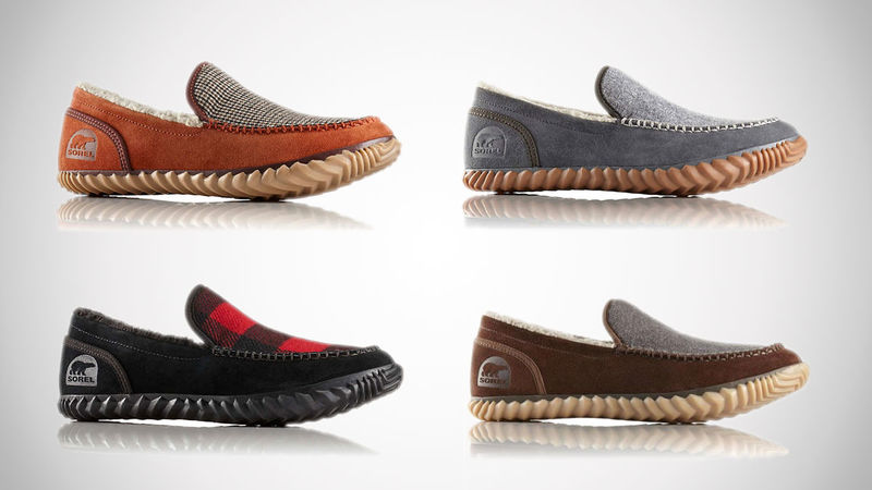 Rugged Outdoor-Ready Slippers