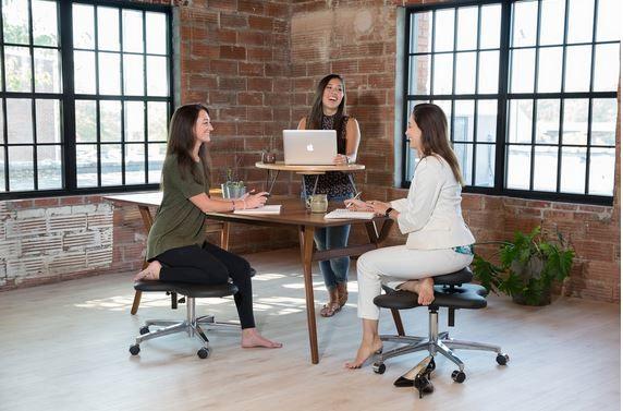 Cross-Legged Office Chairs