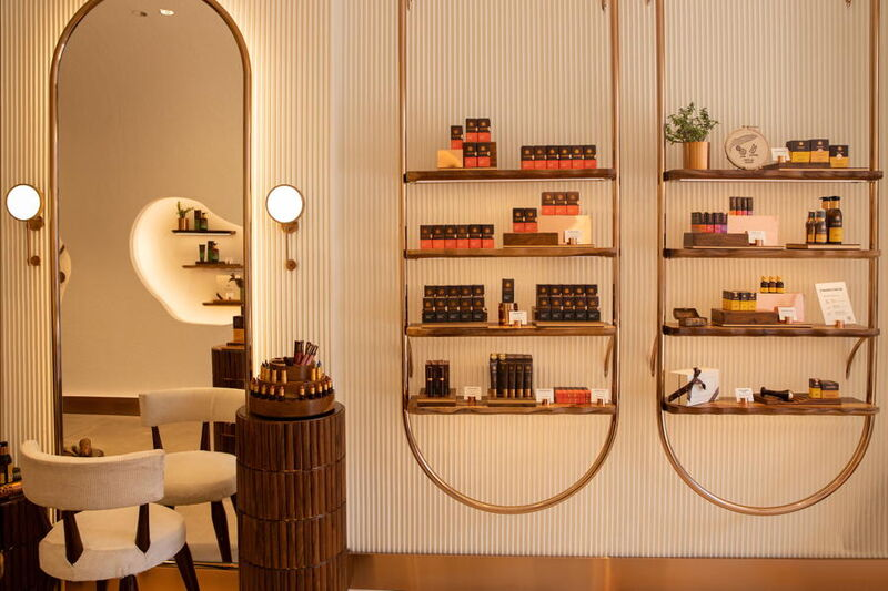 Solar-Powered Beauty Stores