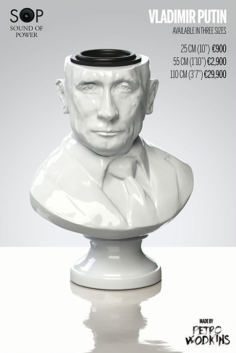 Porcelain Dictator Speakers