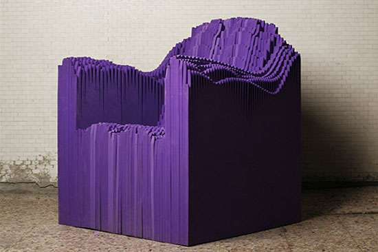 Sound Wave Chairs