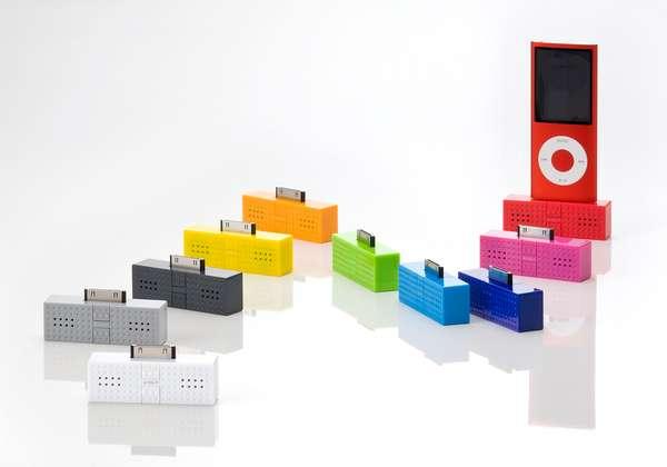 Snazzy LEGO Speakers