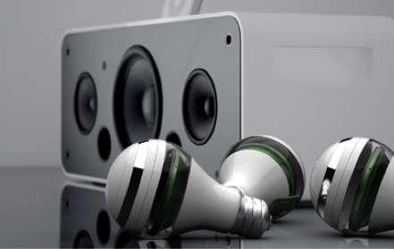 Illuminating Audio Equipment