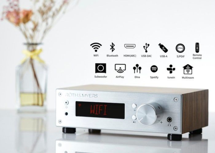 Stylish Connected Audio Devices