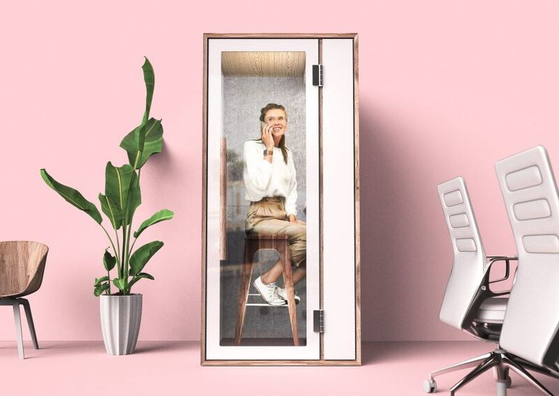 Open Office Privacy Pods