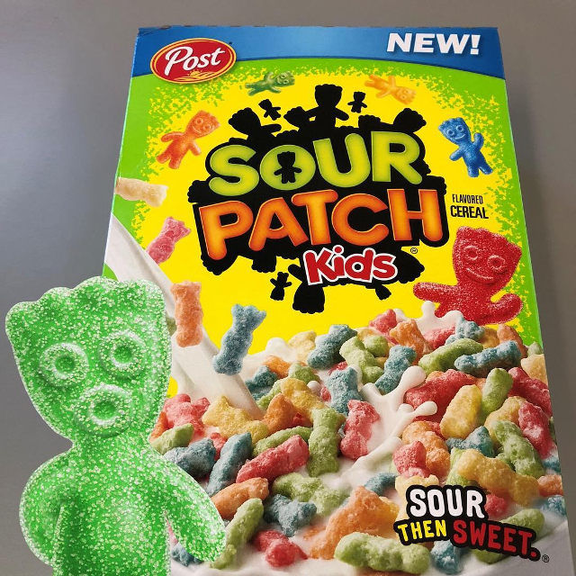 Sour Candy Breakfast Cereals