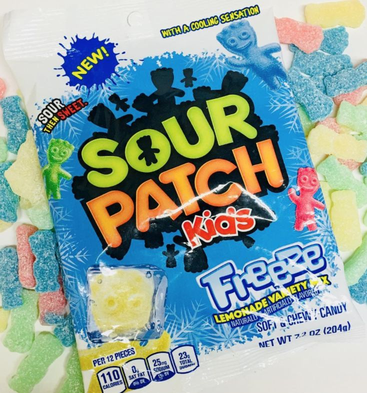 Mouth-Cooling Sour Candies