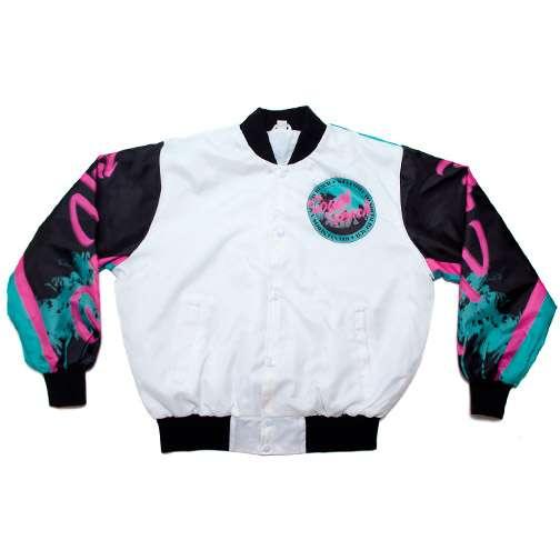 Bright Neon Bombers : South Beach Jacket