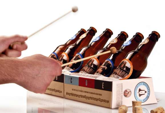 Beer Bottle Xylophones