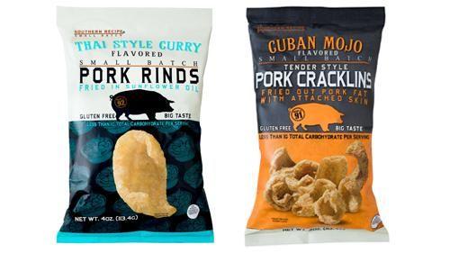 Internationally Inspired Pork Rinds