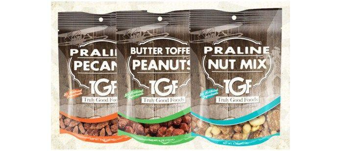 Savory Premium Nut Snacks